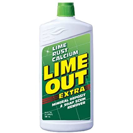Lime OUT Heavy-Duty Rust, Lime & Calcium Stain Remover, 24 Fl. Oz. Bottle AO06N