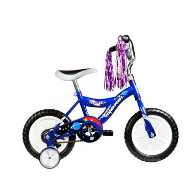 "MBR Boy's 12"" BMX Bike Color: Blue -  Micargi, MBR12Y-B-BL"
