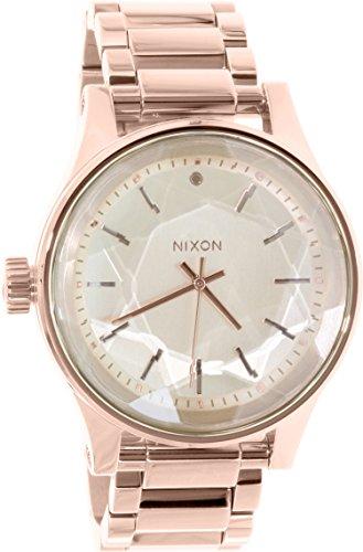 Nixon Facet Gold Dial Stainless Steel Quartz Ladies Watch A384-897
