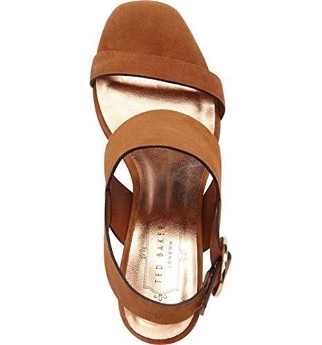 Ted Baker Women's Azmara Sling Back Sandals, Brown
