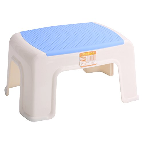 - Kleanner Plastic Small Step Stool Children's Stool, Anti-Slip Foot Perfect For Toddler Toilet Training Or Kids Bathroom For Brushing Teeth Or Washing Hands, 12