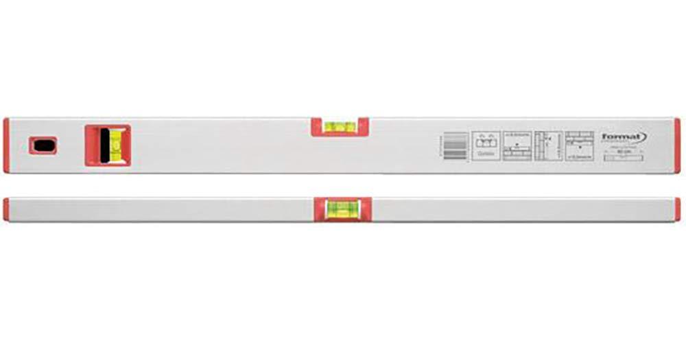 Format 7647270040 –  Wasserwaage met. leicht 40 cm silber elox.