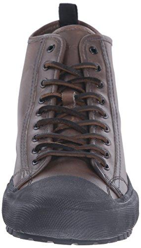 Frye Mens Ryan Lug Midlace Fashion Sneaker Grigio