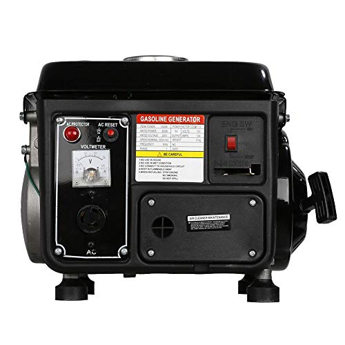 dowantwaps 1200W Gasoline Electric Generator,Gas Powered Portable Generator for Home Camping Emergency by dowantwaps (Image #1)