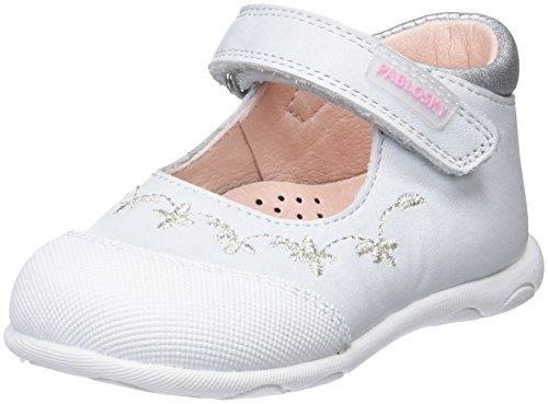 Pablosky 024905, Zapatillas Para Niñas Blanco (Blanco 024905)
