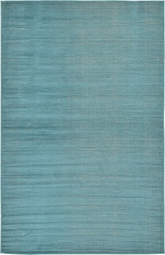 A2Z Rug Modern Caen Collection Rugs Teal 5