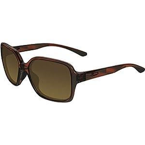 Oakley Womens Proxy Polarized Sunglasses, Tortoise/Brown Gradient, One Size