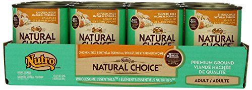 Nutro NATURAL CHOICE Puppy Chicken, Rice and Oatmeal Dry Dog Food, Premium Ground - 12.5 oz. (355 g)