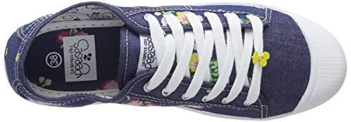 Cerises Temps Femme 02 Bleu Jeans Baskets Le jeans Basic Des 6SdqEn4w