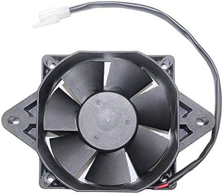 Funnyrunstore 12V Motor eléctrico Ventilador de refrigeración del ...