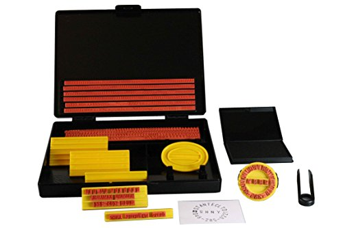 Shiny S-200 DIY Printing Kit 4mm and 5mm Character - Stamp Rubber Kit
