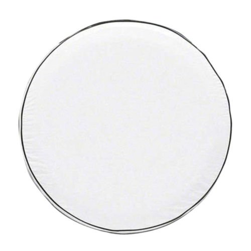 "OverDrive Custom Fit Spare Tire Cover, White, 30"" - 30.75"" - Classic Accessories 75160"