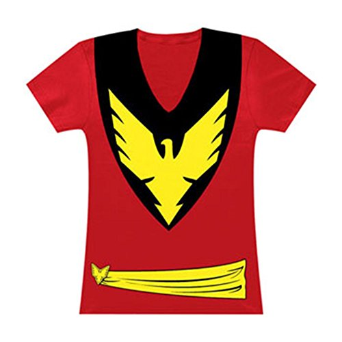 Dark Phoenix Women's Costume T-Shirt- Slim -