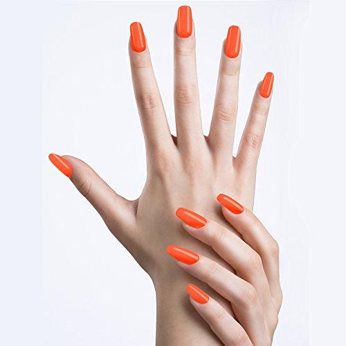 bright orange nail polish - 4