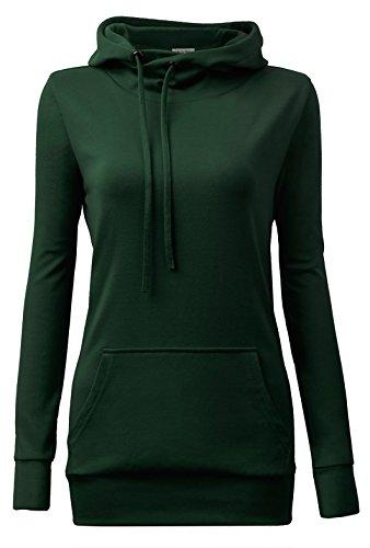 Green Hoody Sweatshirt - 4