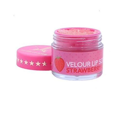 Velour Lip Scrub - Jeffree Star (Strawberry Gum) (Best Jeffree Star Lipsticks For Dark Skin)
