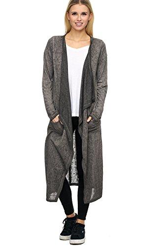Decay - Gilet - Femme gris gris