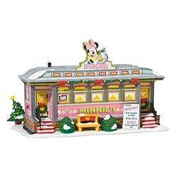 Department 56 Disney Village Lit House, Minnie's Diner