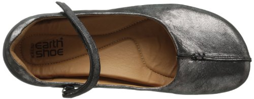 Flat Leather Women's Distressed Earth Solar Kalso Pewter AOg0qxT