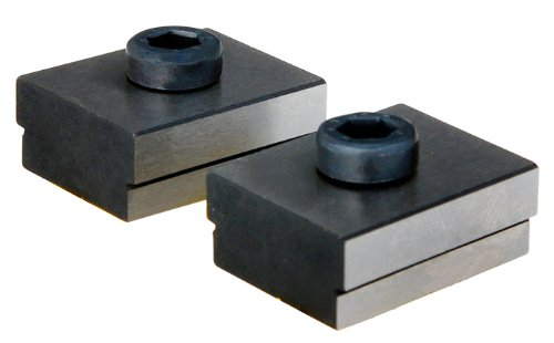 Röhm 14825 Type 739 NTS Fixed T-Slot Nut Set with Fixing Screw for Compact/Power/Machine Vises, 20mm x 14mm Size, 25mm Length