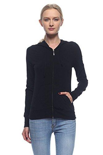 Calilogo Women's Active USA Full Zip Up Long Sleeve Pockets Hoodie Jacket SIZE SM-3XL