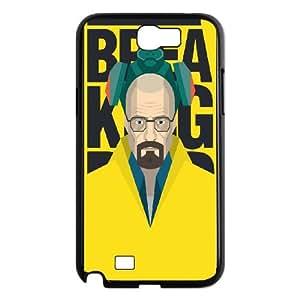 Breaking Bad Samsung Galaxy N2 7100 Cell Phone Case Black Vkwnw