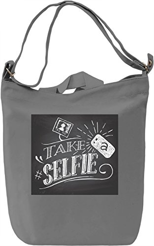 Take A Selfie Full Print Borsa Giornaliera Canvas Canvas Day Bag| 100% Premium Cotton Canvas| DTG Printing|