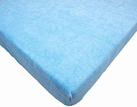 BABY TERRY SHEET 90x40 120x60 140x70  MATTRESS NURSERY COT BED BEDDING SET