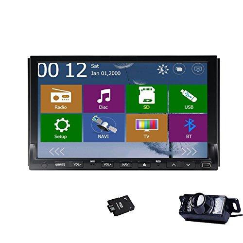 Camera+New Win 8 UI Design 7 inch 2 Din Car DVD Player Car S