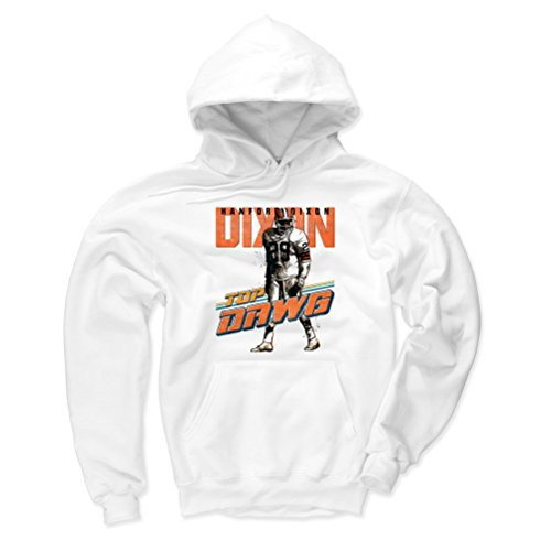 Cleveland Fleece White Browns (500 LEVEL Cleveland Browns Men's Hoodie - XXX-Large White - Hanford Dixon Dawg O)