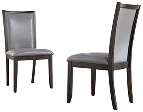 Ash Dining Chair (Ashley Furniture Signature Design Trishelle Dining UPH Side Chair, Gray, Set of)