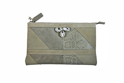 Antico Collezione Borsa Gioiello In Pelle Industry Donna Fashion Argento Con By Accessories Laino Accessorio rtt5wAqx