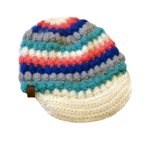 ocean-pacific-womens-colorful-knit-newsboy-hat-ivory-blue-pink-stripes