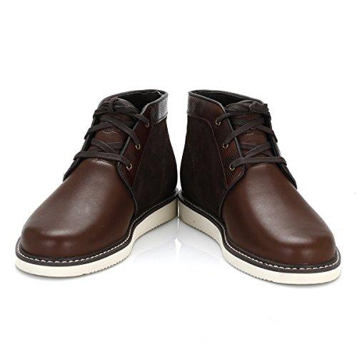 longitud para PT Newmarket Newmarket hombre corta chukka forradas marrón de Timberland botas Chukka TZvwwqx