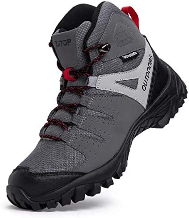 Breathable Lightweight Backpacking Mountaineering High Traction