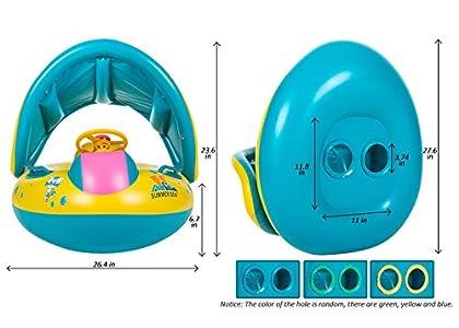 Olycism PVC Flotador Anillo de Nataci/ón del Ni/ños de Dibujos Infant Nataci/ón Flotador de Piscinas para Beb/és Ni/ños 1-3 A/ños Edad