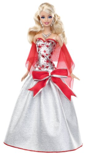 - Barbie Holiday Sparkle Barbie Doll