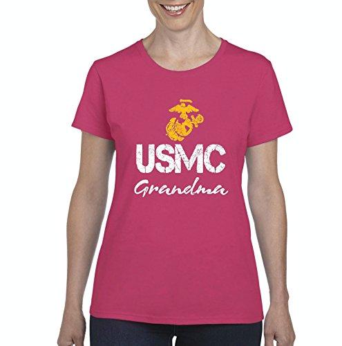 Nib Seal (NIB USMC Grandma Proud Navy Seal Marines Homecoming Party Gift Women Shirts T-Shirt Tee)