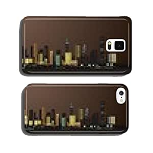 night view of the city cell phone cover case Samsung S5