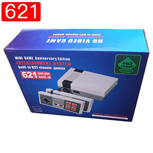 Retro Family Game Mini HDMI Console 8Bit Classic 621 Built-in Games