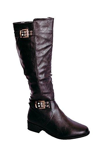 Boot Moda Top Black Sperry Knee Women's High 5 WxYx7Onw