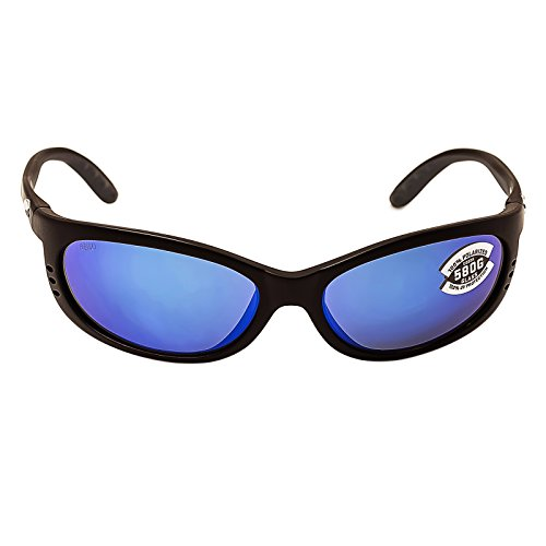 bc1c47327b Sunglasses Costa Del Mar FATHOM FA 11 OBMGLP BLACK BLU MIR 580Glass
