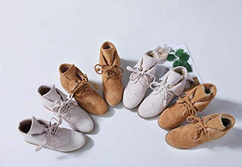 Cruz Zapatos Beige Barroco Mujeres Ronda 35 Botines Botas Dedo Ue Casuales Botín 40 Martin Tacón Bajo Tamaño Correa Pie Cortas Del qw4B86q