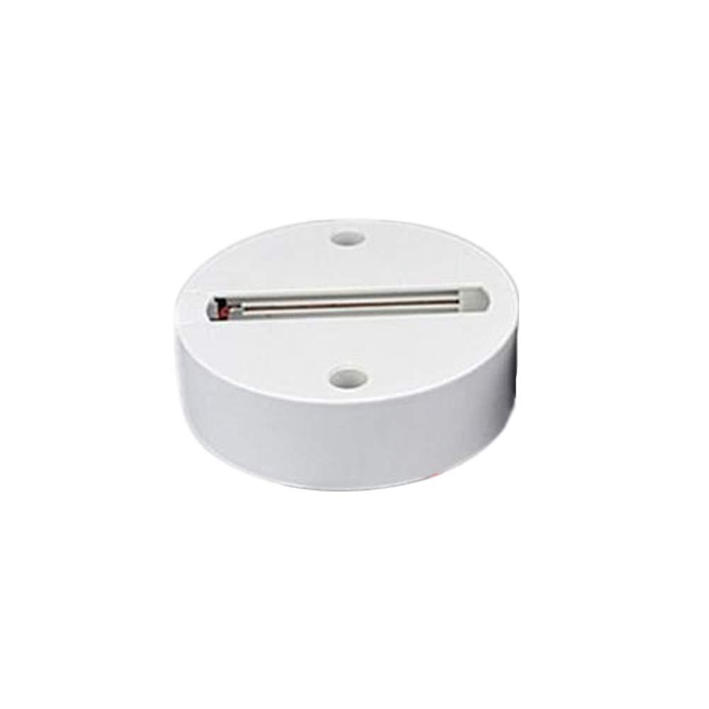 ZX101 10/15/20/30W LED Ceiling Pendant Track Light Clothes Store Spotlight Rail Lamp - White Round Shape