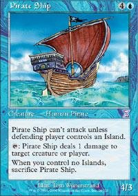 Magic: the Gathering - Pirate Ship - Timeshifted