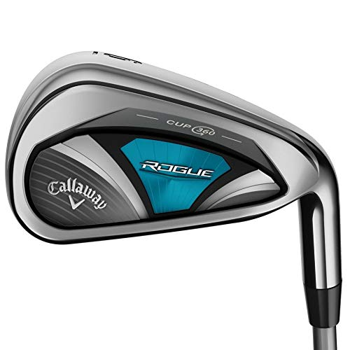 (Callaway Golf 2018 Women's Rogue Individual Iron, Right Hand, Synergy, 60G Shaft, Ladies Flex, 5 Iron)