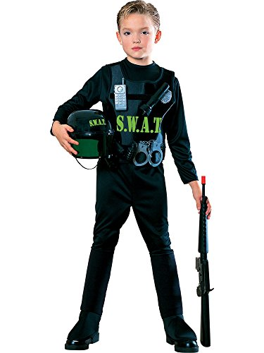 Young Heroes Child's S.W.A.T. Team Costume, Medium ()