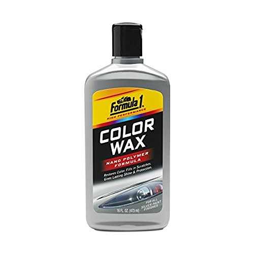 Formula 1 Silver Color Wax- Restores Color and Fills in Scratches,16 fl. oz