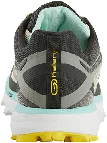 Kalenji - Zapatillas para Correr en montaña de Caucho para Mujer, Color Amarillo, Talla 39 EU: Amazon.es: Zapatos y complementos