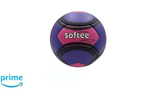 Balon Fútbol Playa Softee Soccer Beach Violeta/Rosa: Amazon.es ...
